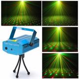 Mini Laser Dj Discoteca Multipuntos Rojo Y Verde