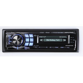 Radio Cd´s Mp3, Ipod O Iphone, Alpine Cda-9887