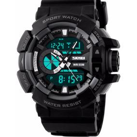Reloj Moderno Tactico Militar Generacion 2 Negro
