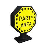 Luminária Placas De Trânsito Criativa Party Area Presente
