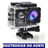 Camara Deportiva 4k 1080p 16mp Ultra Hd Water Resistant