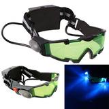 Óculos Visão Noturna Lanterna Led Original Flip Out +brinde