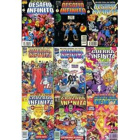 Guerra Infinita Marvel Hq Saga Completa 1991-2018
