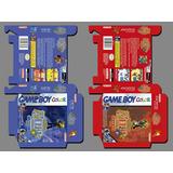 Plantilla Para Elaboración De Cajas De Juegos Game Boy Color