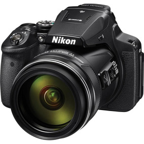 Camera Nikon P900 Zoom 83x + Sd 64gb Class 10