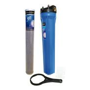 Filtro De Agua Carcasa 20 Pulgadas Slim Y Membrana Carbón