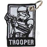 Chaveiro Bordado Bolsa Mochila Arma Star Wars Storm Trooper 63b39f671127e