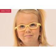 Óculos Infantil Miraflex Inquebrável New Baby 3 A 6 Anos
