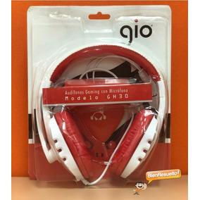 Audífonos Gaming Con Micrófono Gio Gh30 Para Pc Laptop