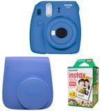Camara Fujifilm Instax Mini 9 Estuche Mini Film Pack