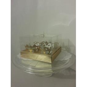 5 Cajas De Acetato Para 4 Cupkaques, Quequitos, Muffind Con