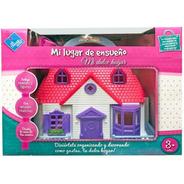 Casa Casita Muñeca Muebles Figuras Toy New Cod 6315 Bigshop