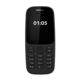 Nokia 105 S30+ 2g Pant. 1.8qqvga 4+4mb Negro