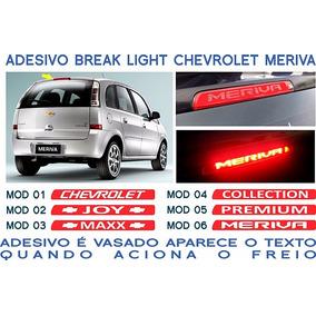 Acessorios Meriva Joy Maxx Premium Adesivo Break Light