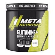 Glutamina Meta Nutrition 500 Gramos (100 Servicios)