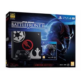 Ps4 Consola Play Station 4 Pro Edición Star Wars Battlefront