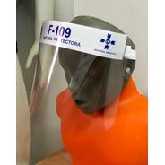 Mascara Facial Proteccion Pvc Con Sujetador Elastico 50 Und