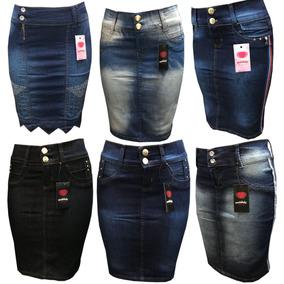 Saia Jeans Evangelicas Detalhes Moda Feminina Varios Modelos