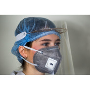 Protector Careta Facial Cubreboca Re-utilizable Pet Cristal