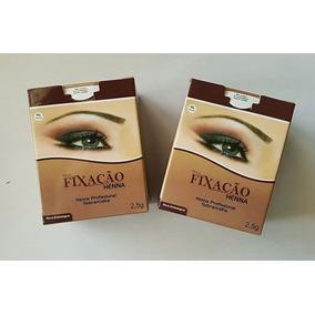 Henna P/ Sobrancelha Fixação Kit Com 01 Caixa