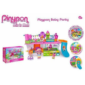 Pinypon Play Set Baby Party Pp3640 R4313