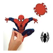 Adesivo De Parede Homem-aranha - Rmk1795scs Reutilizável