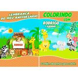 Safari Revista De Colorir Lembrança De Aniversario De 1 Ano