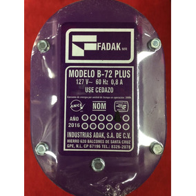 Bomba Para Aire Lavado Fadak B-72 Plus