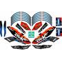 Ktm Duke 200 - 390 Calcas, Stickerts, Vinilos Para Motos.