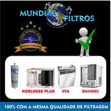 Refil Filtro Purificador Europa Noblesse Plus , Flex , Hf