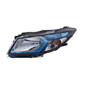 Farol Esquerdo Mascara Negra Lente Azul - Onix - Prisma