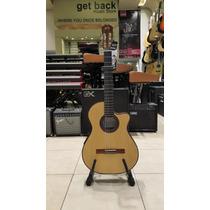 Guitarra Electrocriolla Alpujarra 86 Kec.con Funda Y Cable