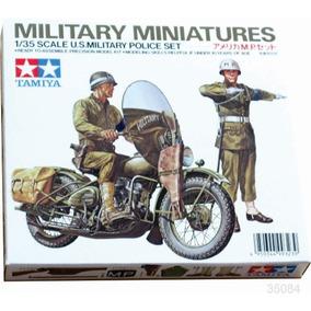 Tanque Tamiya Soldados U.s.a Moto Diorama 1/35 Armar Pintar