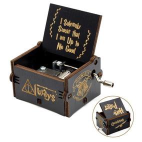 Caja Musical Harry Potter, Music Box, Negra, Hogwarts Always
