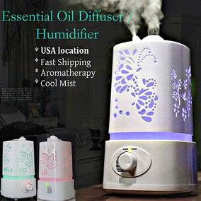 Aroma Hogar Ultrasonidos Humidificador Aire Difusor