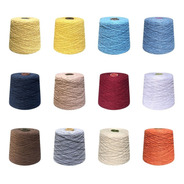 Barbante Colorido Número 6 Para Croche 1kg Crochetka
