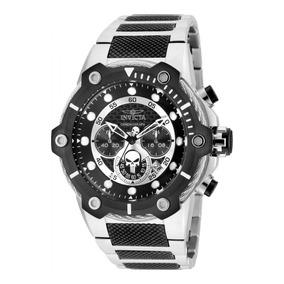 Reloj Invicta Marvel Acero Inoxidable Acero, Negro Hombres.