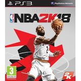 Nba 2k18 Digital Juego Ps3 Playstation 3 Español