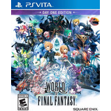 World Of Final Fantasy Day One Edition Psvita Delivery