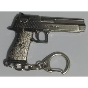 Chaveiro De Arma Pistola Desert Eagle Militar Em Metal