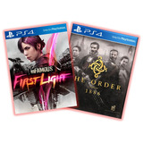 The Order 1886 + Infamous First Light Ps4 Prim Español