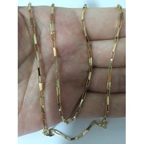 Corrente Cordão Cartier 60cm Masculino Ouro 18k Grossa