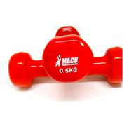 Pesa Mancuerna Un Par Mach 500g