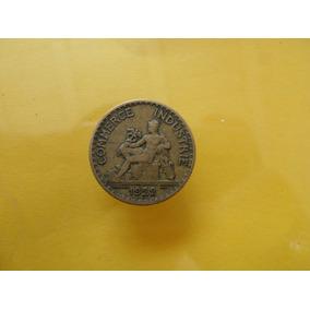 Moneda Antigua 1 Franco 1922 Francia