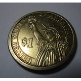Moneda Usa Norteamerica John Adams