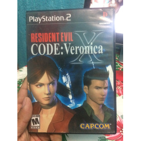 Residen Evil Code Veronica Ps2