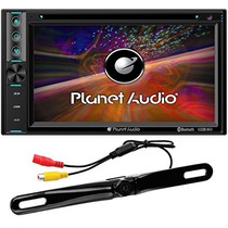 Estereo Planet Audio P9650brc Bluetooth Camara Reversa Dvd