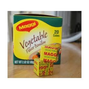 Maggi Cubos De Vegetales