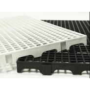 Kit 20 Pçs 2,5x25x50 Estrado Plástico Pallet - Tablado Baú