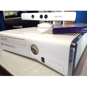 Xbox 360 Completo Com Kinect Original Semi Novo + Jogos